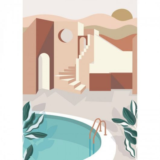 102144044 1 530x530 - MURAL ARQUITECTURA ARCHWAYS LABYRINTH
