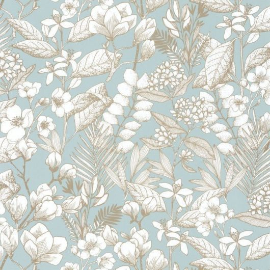 papel pintado floral Lovely Field 102656026