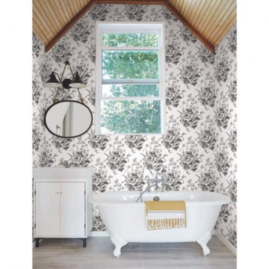 12fh4086 simply farmhouse wallpaper heritage roseyyyy 530x530 - SIMPLY FARMHOUSE PAPEL ROSAS VINTAGE FH4086