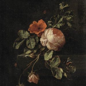 Mural Still life with roses 158884