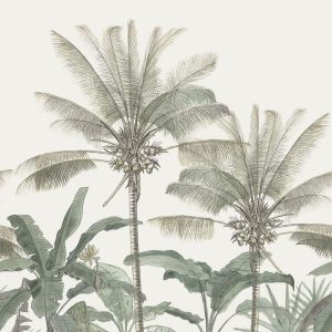 Mural Botanical Palm Trees 158947