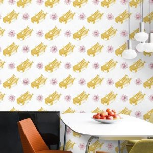 Mind the gap WP20010 - Sardines Yellow ambiente