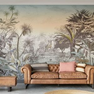 AMBIENTE MURAL INTO THE WILD SUNSET 300612