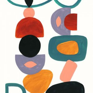 Mural abstracto totem 87028512