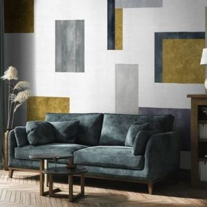 AMBIENTE RANDOM ARCHIST MURAL COLOR STUDY GOLD 9000502