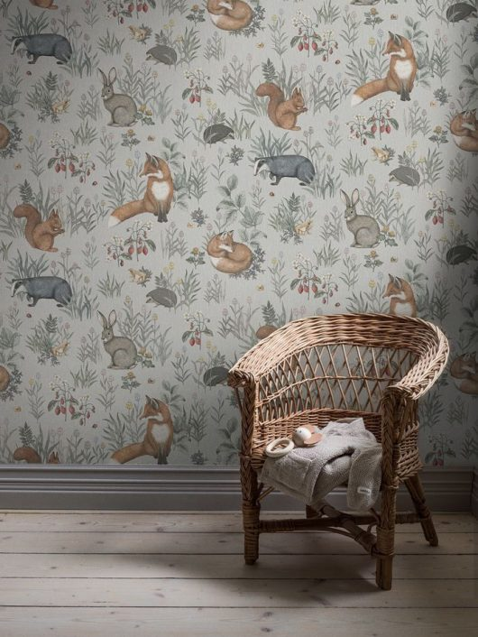 Ambiente mural forest friends 7480