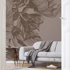 LR 9500703 1 300x300 - MURAL NATURAE GIANT PEONIES CACAO 9500703