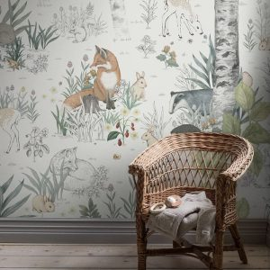 Ambiente Mural magic forest 7481