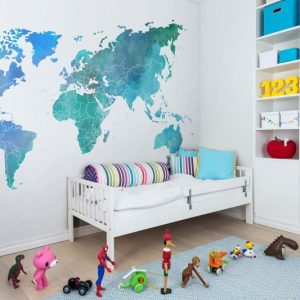 MURAL REBEL YOUR OWN WORLD COLOUR CLOUDS REF. R13923