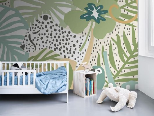 AMBIENTE MURAL INFANTIL INTO THE WILD BEIGE