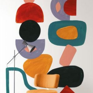 Ambiente Mural abstracto totem 87028512