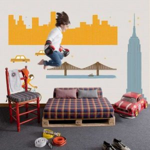 Ambiente Mural Time Square 2300102