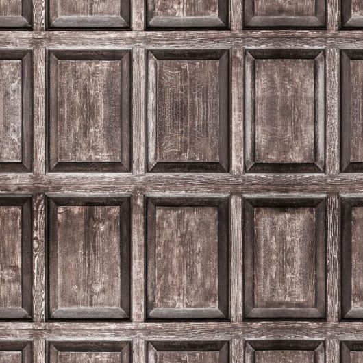 MURAL OLD WOOD PANELS LES DOMINOTIERS