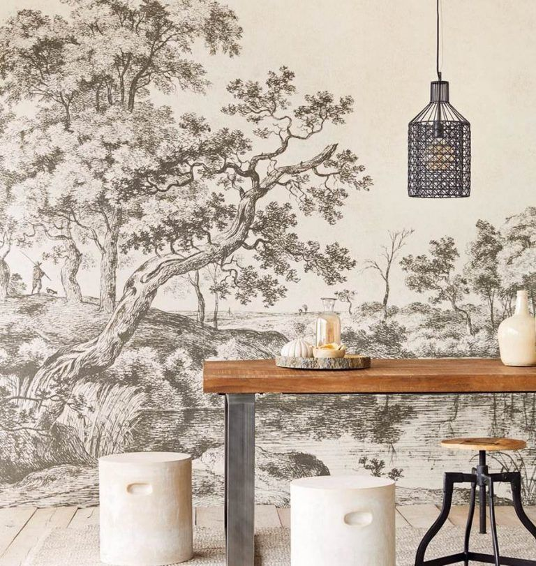Ambiente Mural The Pond ref. 382600