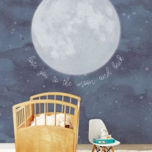 Ambiente Mural over the moon 399119