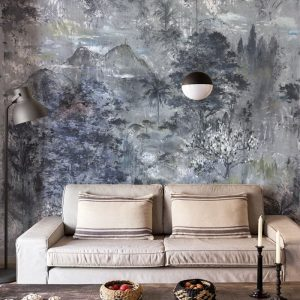 Ambiente Mural glass silver 7800990
