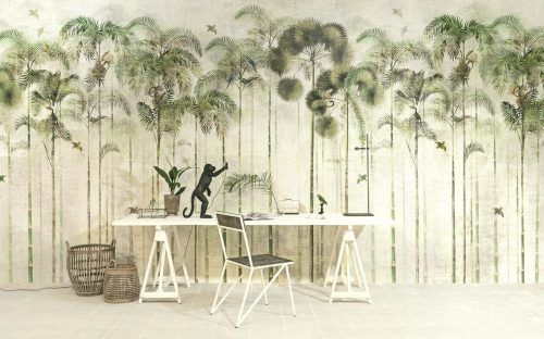 PANEL DIGITAL JUNGLE GREENERY DE KHROMA