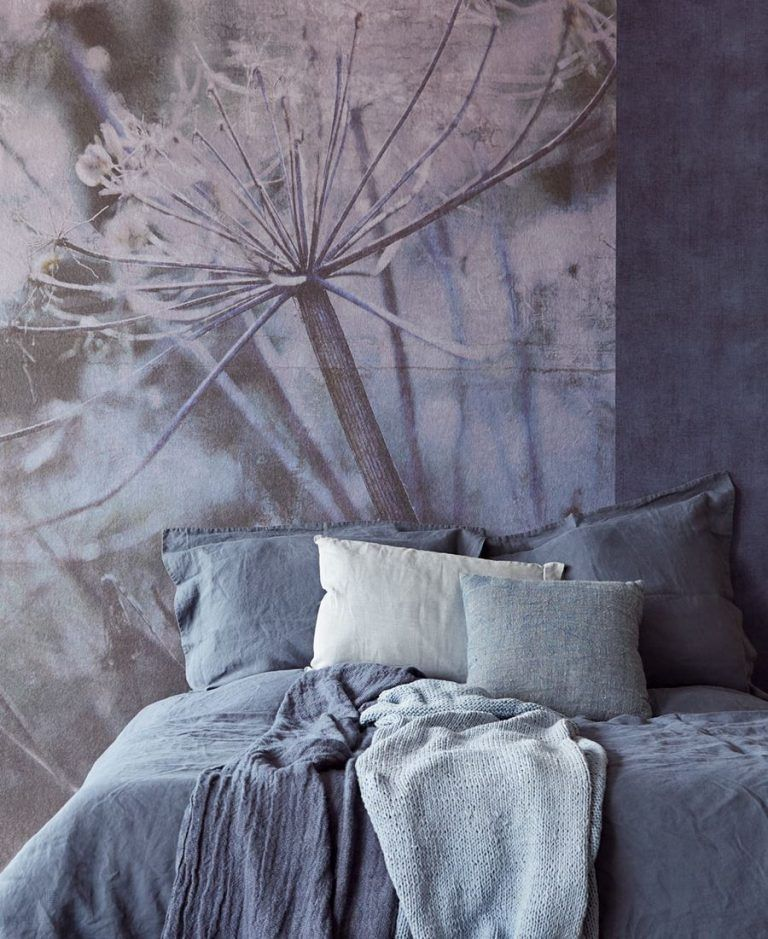 Ambiente Mural acanthus blue 379106