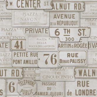 WP20036 Vintage Signs Taupe 1000x1000 330x330 - PAPEL PINTADO STREET SIGNS WP20036 MIND THE GAP