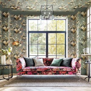 stapleton park wallpaper and very rose and peony fabric 1 300x300 - PAPEL FLORAL INGLÉS STAPLETON PARK 217047