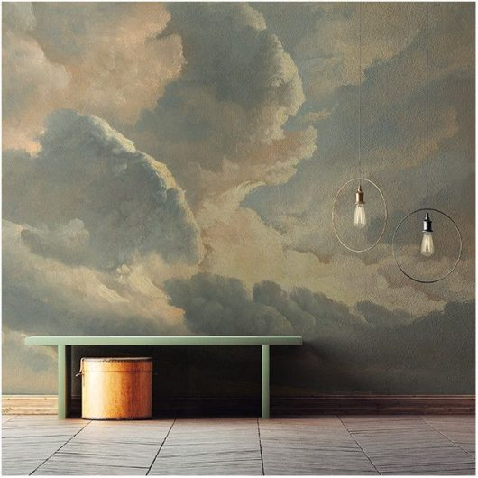 Ambiente Mural sunset clouds dom 153