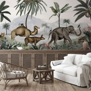 Ambiente mural wild india dom 509
